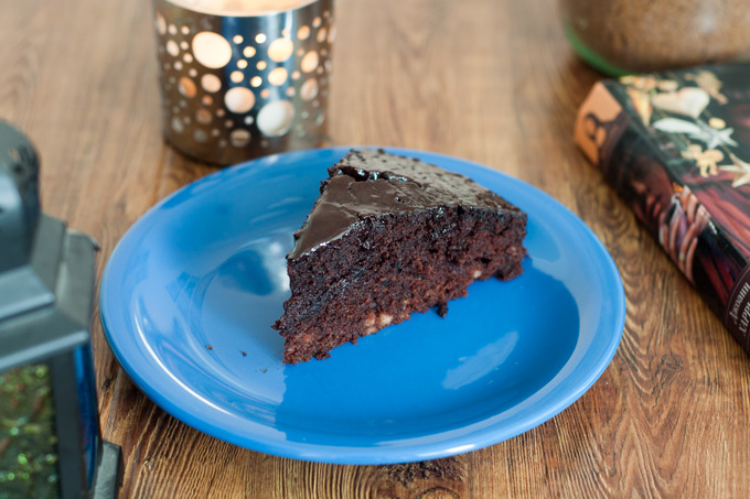Шоколадный торт с колой