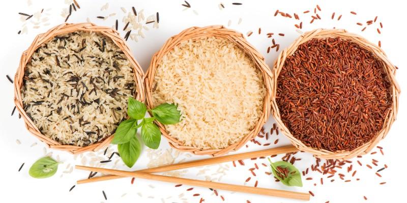 Коричневый круглозерный рис