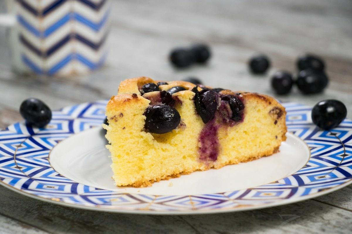 Видеорецепт: бретонский пирог с виноградом