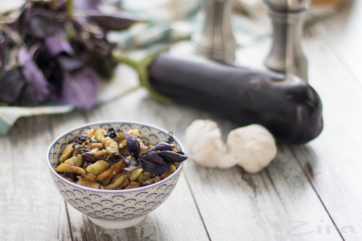 Салат из баклажан с райхоном