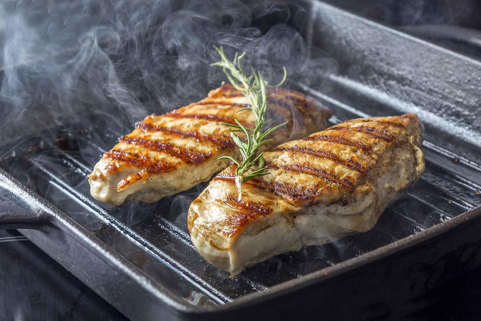 Куриные грудки на сковороде гриль рецепты