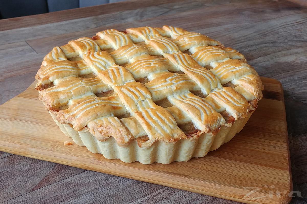 Яблочный пирог от кафе «Кафе»