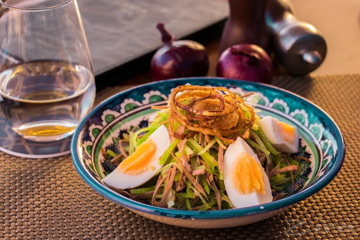 Hyatt Regency mehmonxonasining retseptlari: «Toshkent» salati