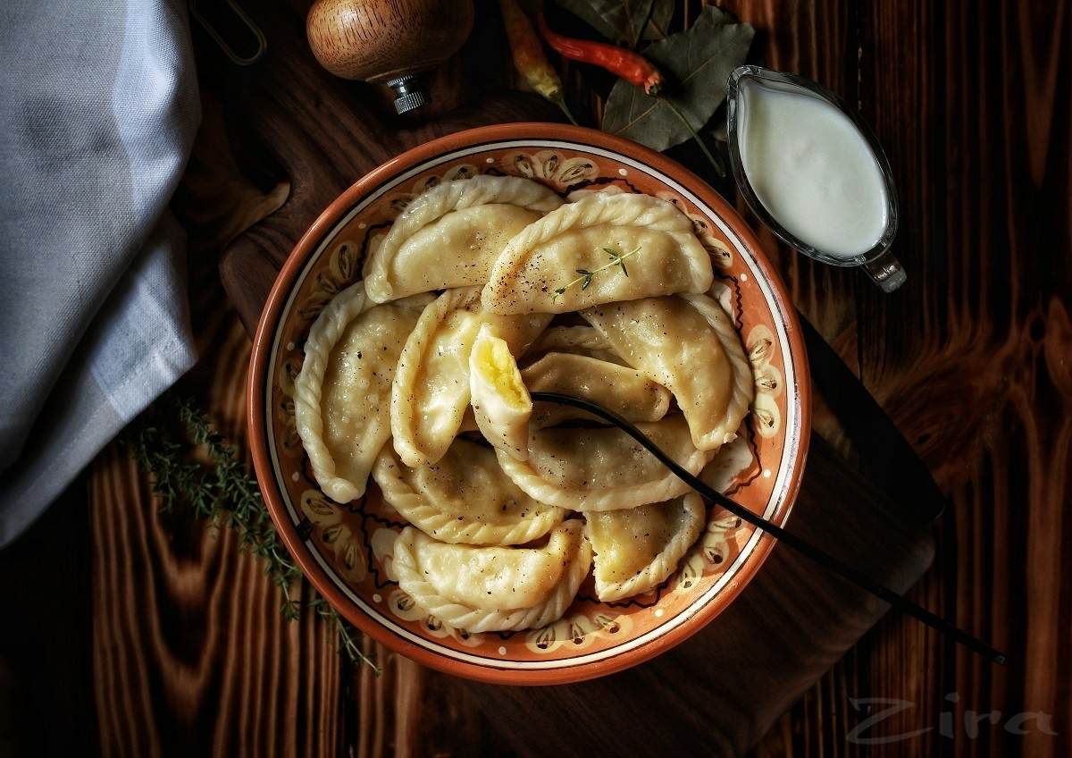 Вареники с картофелем