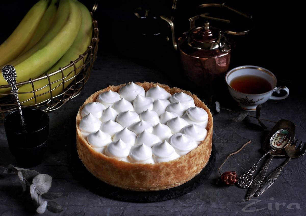 Баноффи – пирог без выпечки с бананами и карамелью