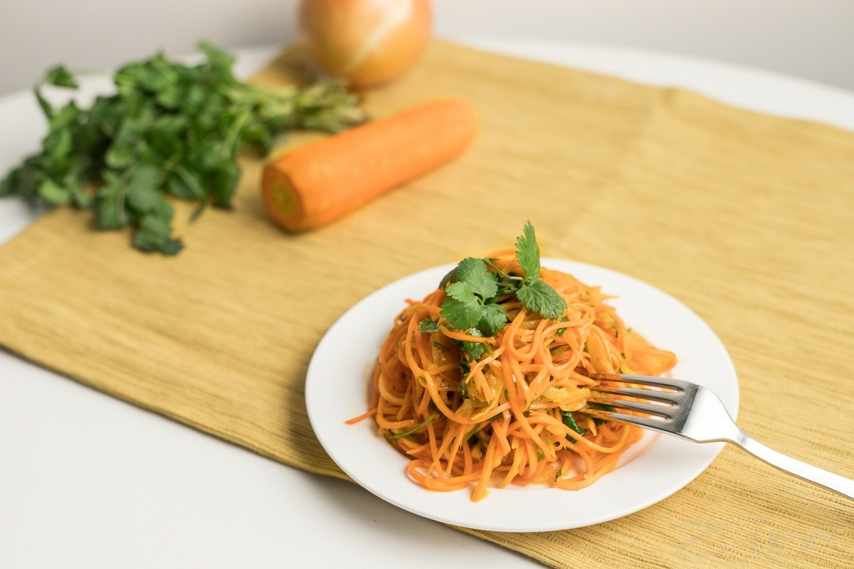 Корейский салат морковча по-домашнему