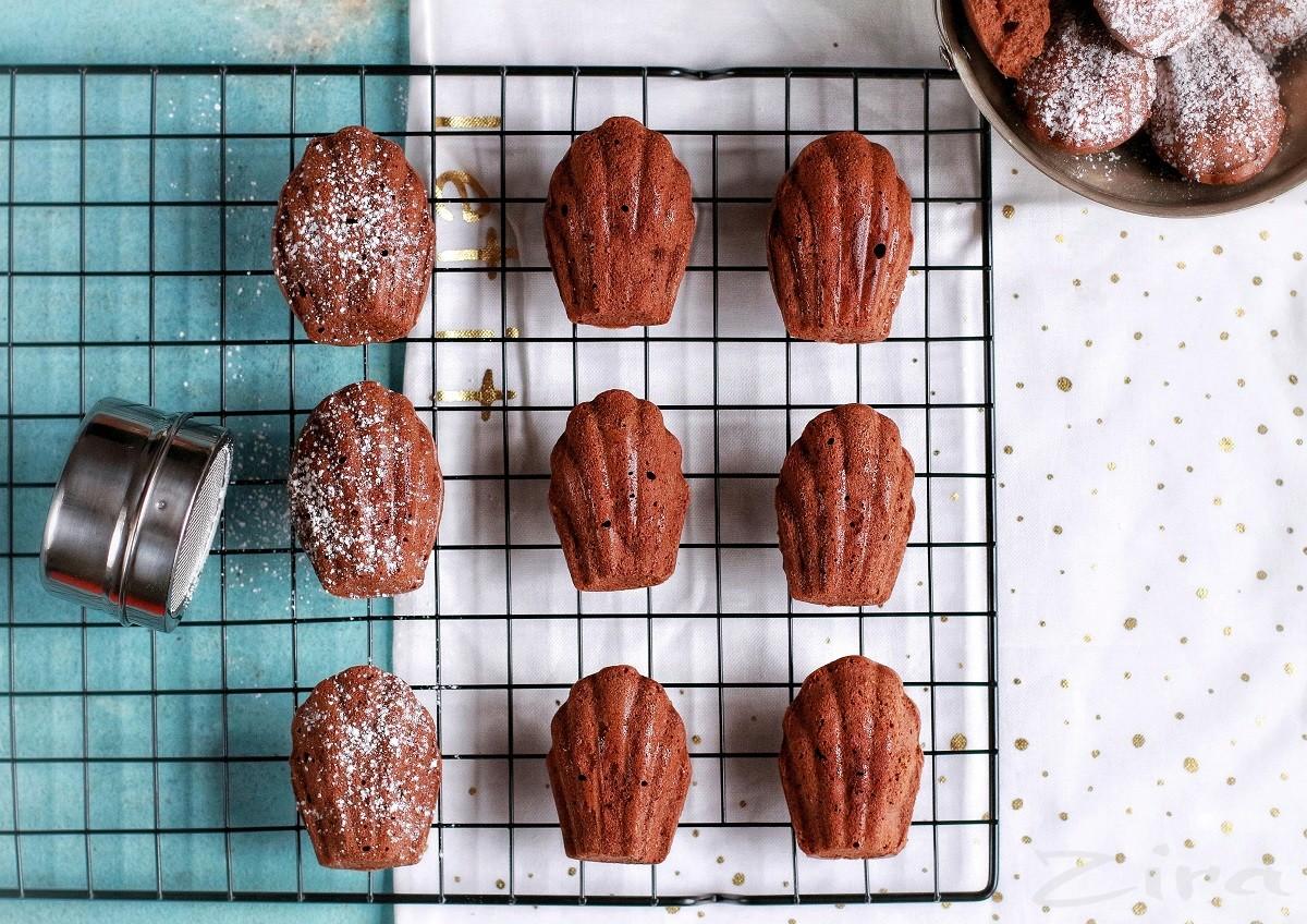 Шоколадное печенье «Мадлен»