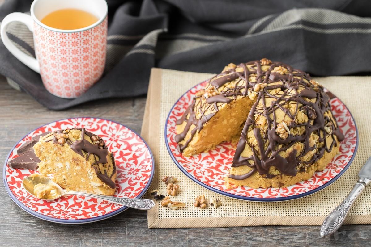 Batafsil fotoretsept: «Chumoli uyasi» torti