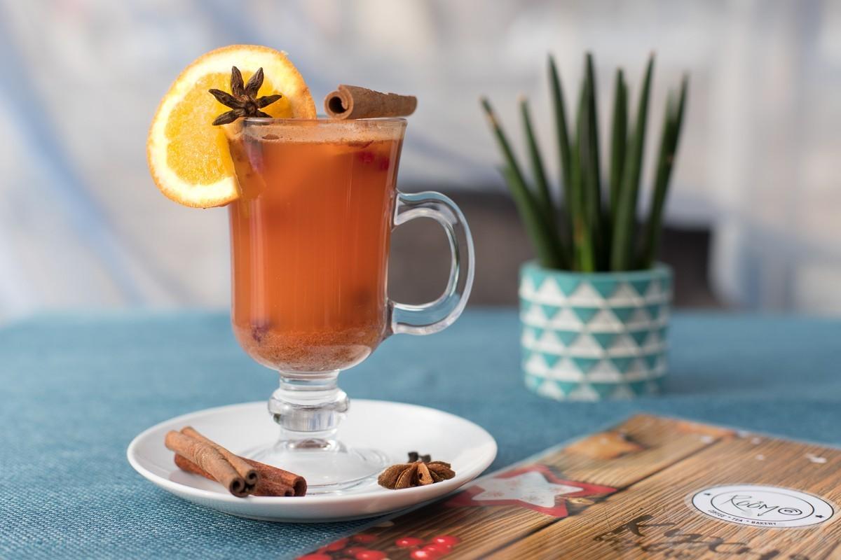 Рецепт от кафе Room 5: апельсиново-клюквенный пунш