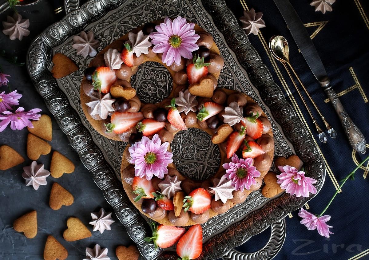 Торт медовый «8 марта»