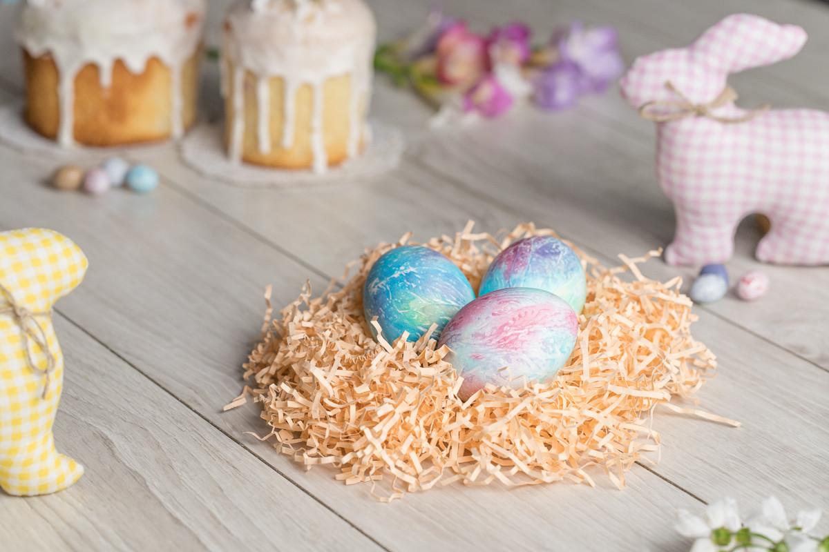 Как раскрасить яйца на Пасху – Zira.uz