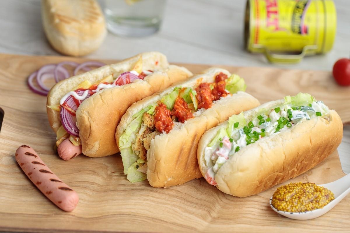 3 идеи начинок для хот-дога
