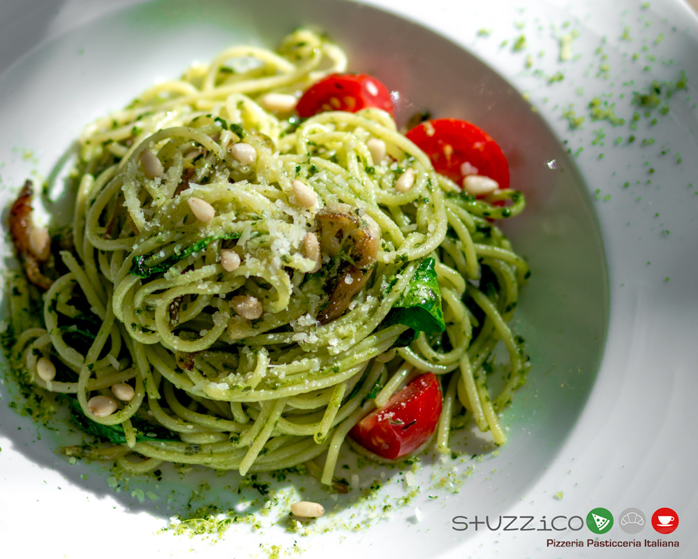 Рецепт от заведения Stuzzico: Спагетти веган