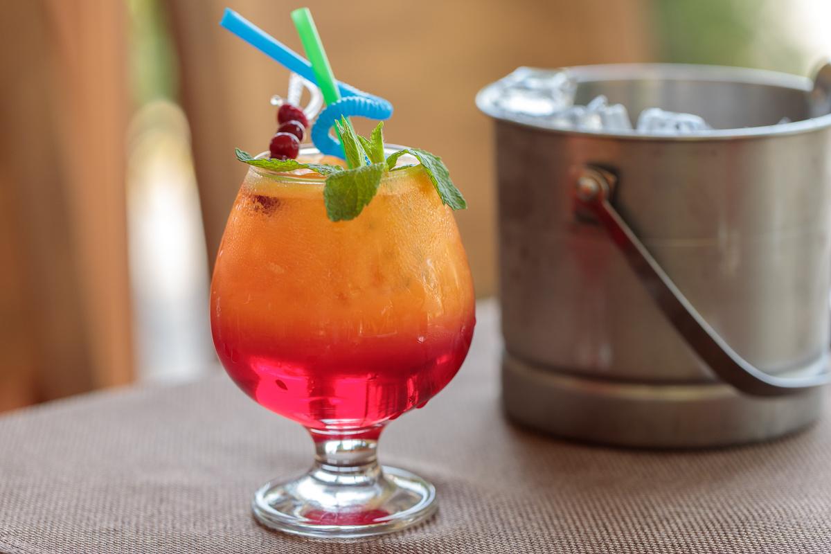 Рецепт от заведения Quadro: Безалкогольный коктейль Picсola