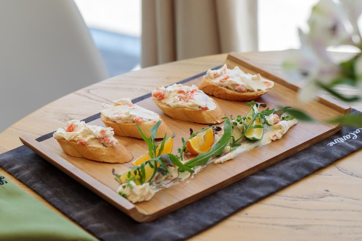 Рецепт от заведения La Cantine: террины с лососем