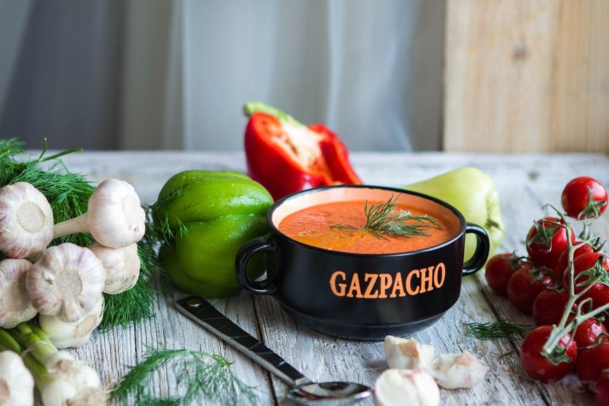 Гаспачо — холодный томатный суп