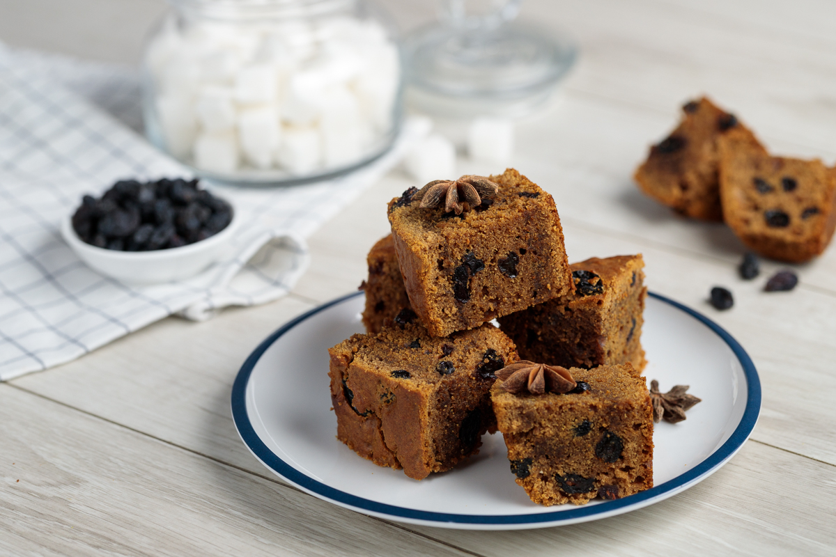 Qahva va asalli keks