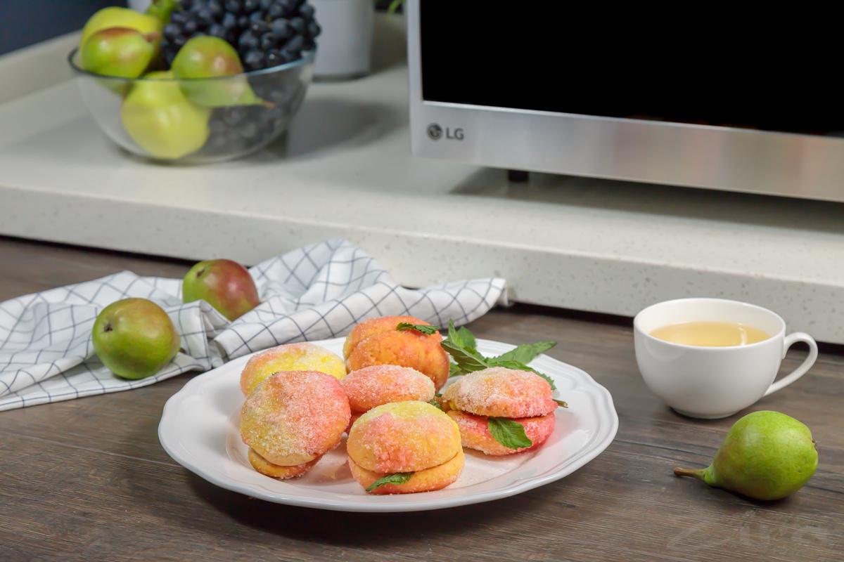 Видеорецепт: пирожное «Персики»