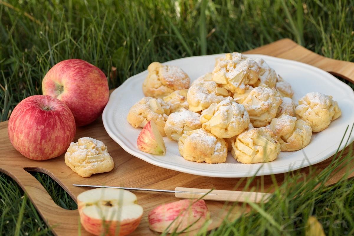 Идеальное яблочное печенье