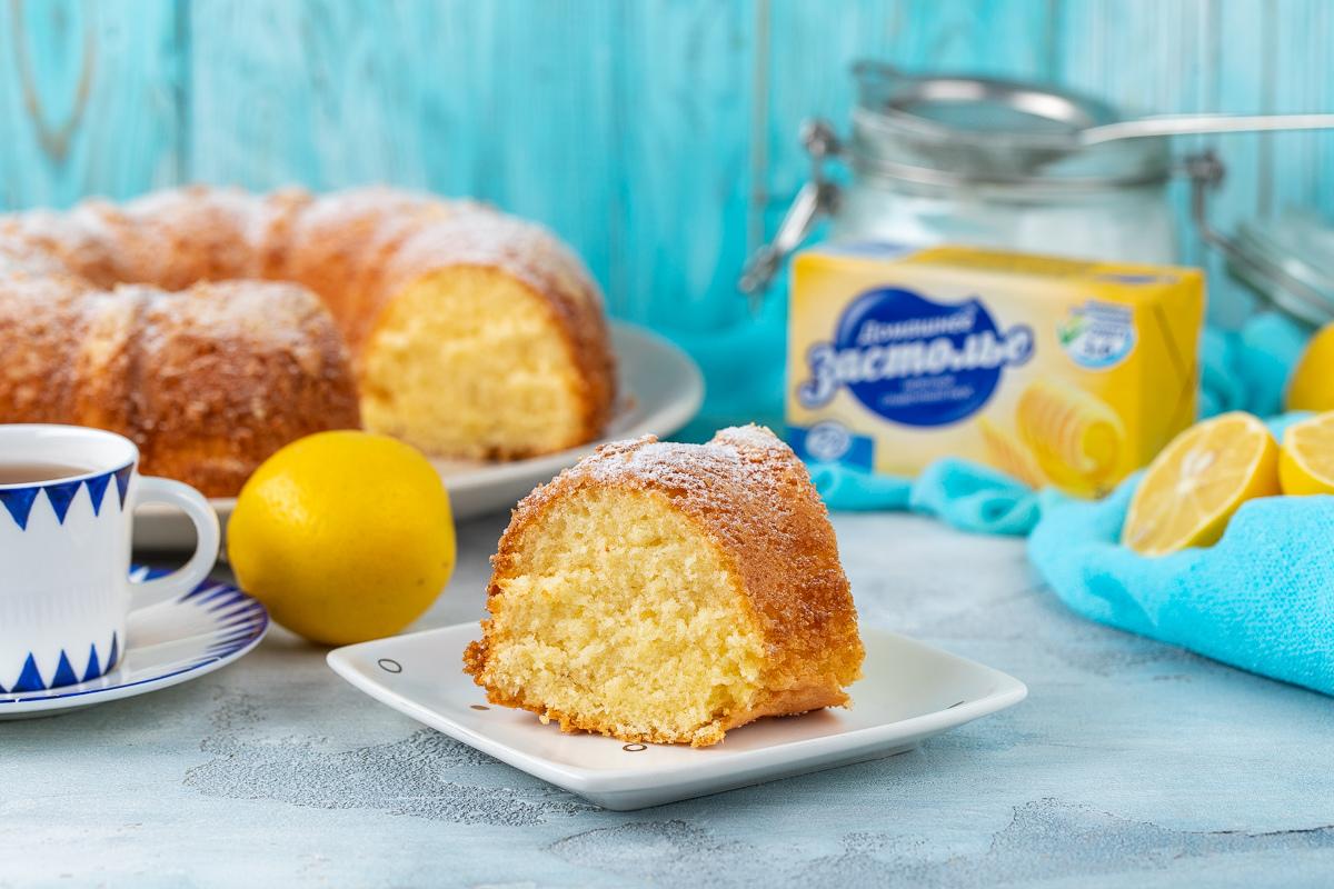 Batafsil fotoretsept: limonli keks