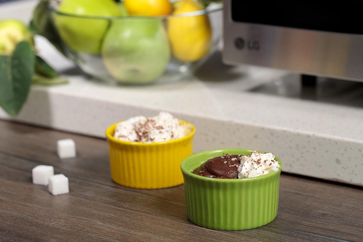 Videoretsept: Mikroto'lqinli pechda shokoladli pudding tayyorlash