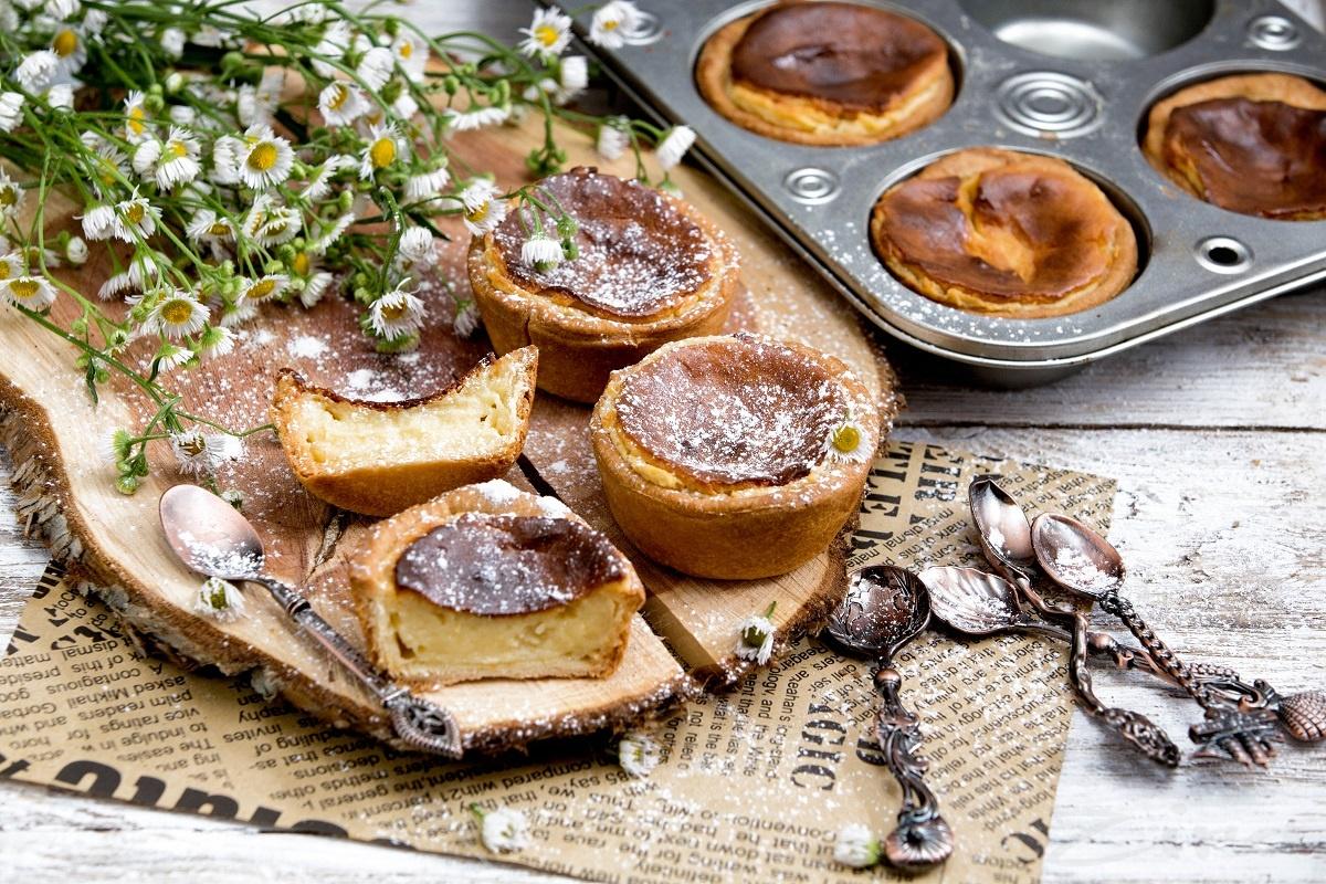 Португальский десерт «Custard tart»
