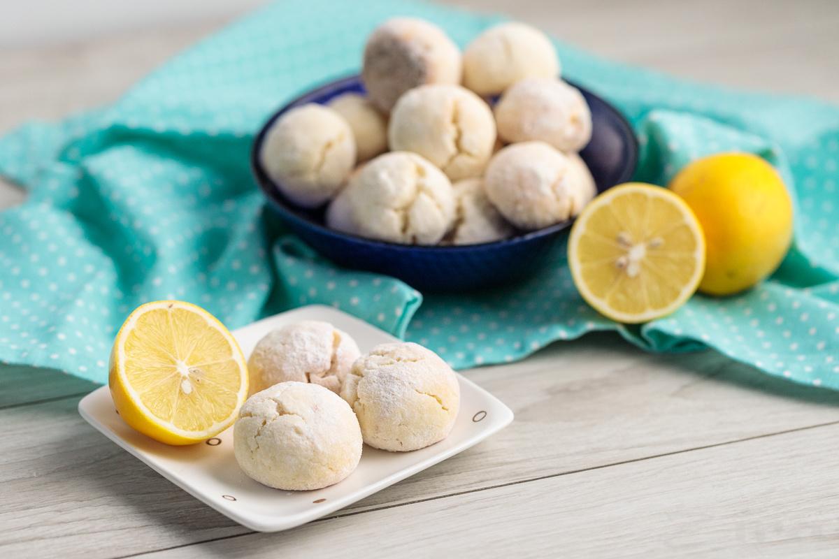Видеорецепт: лимонное печенье