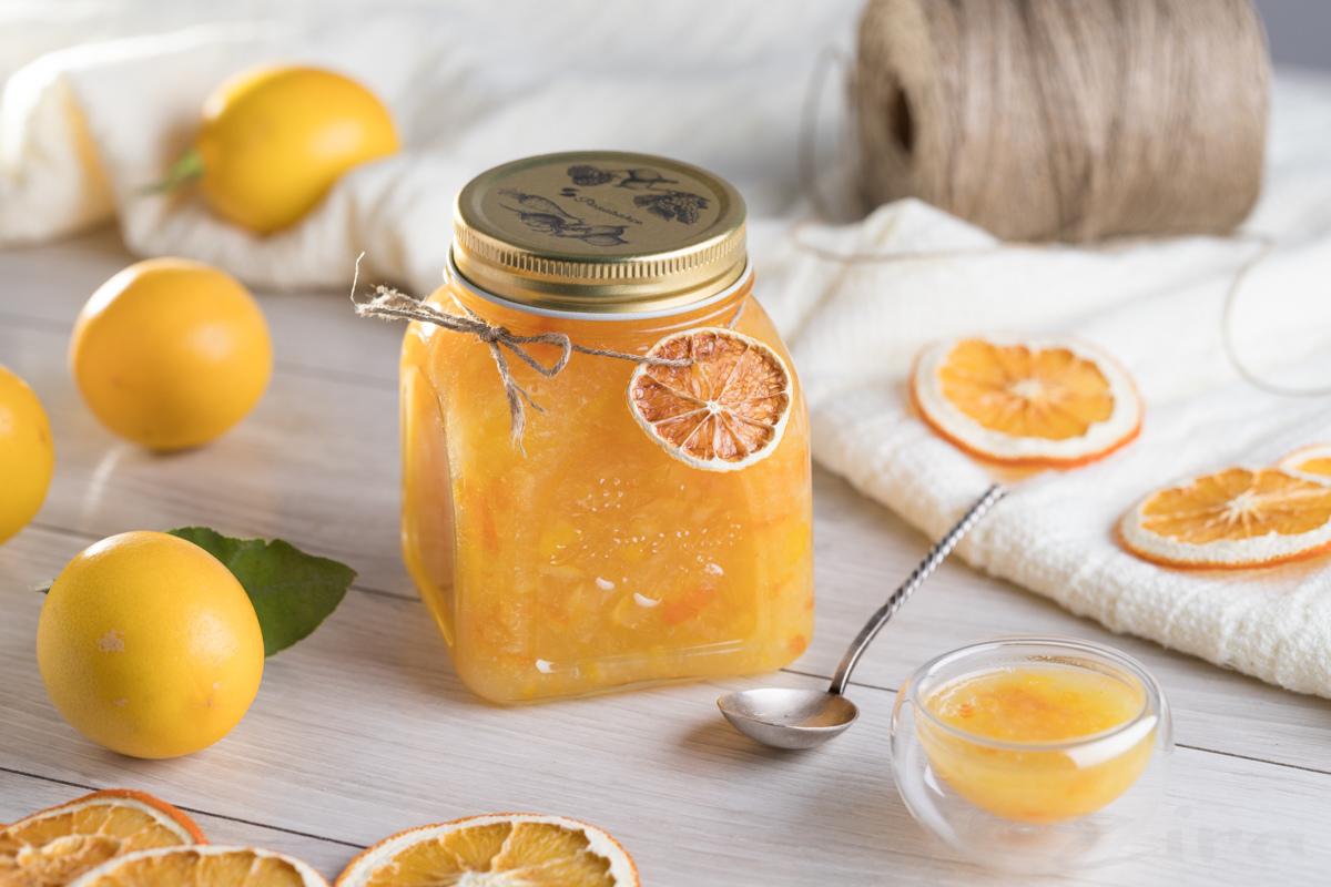 Варенье «пятиминутка» из лимонов и апельсинов