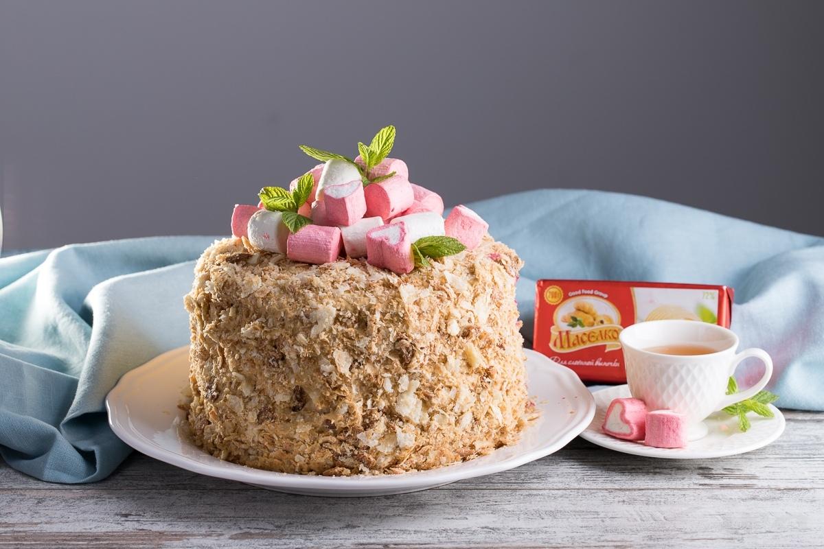 Пошаговый фоторецепт: торт «Наполеон»