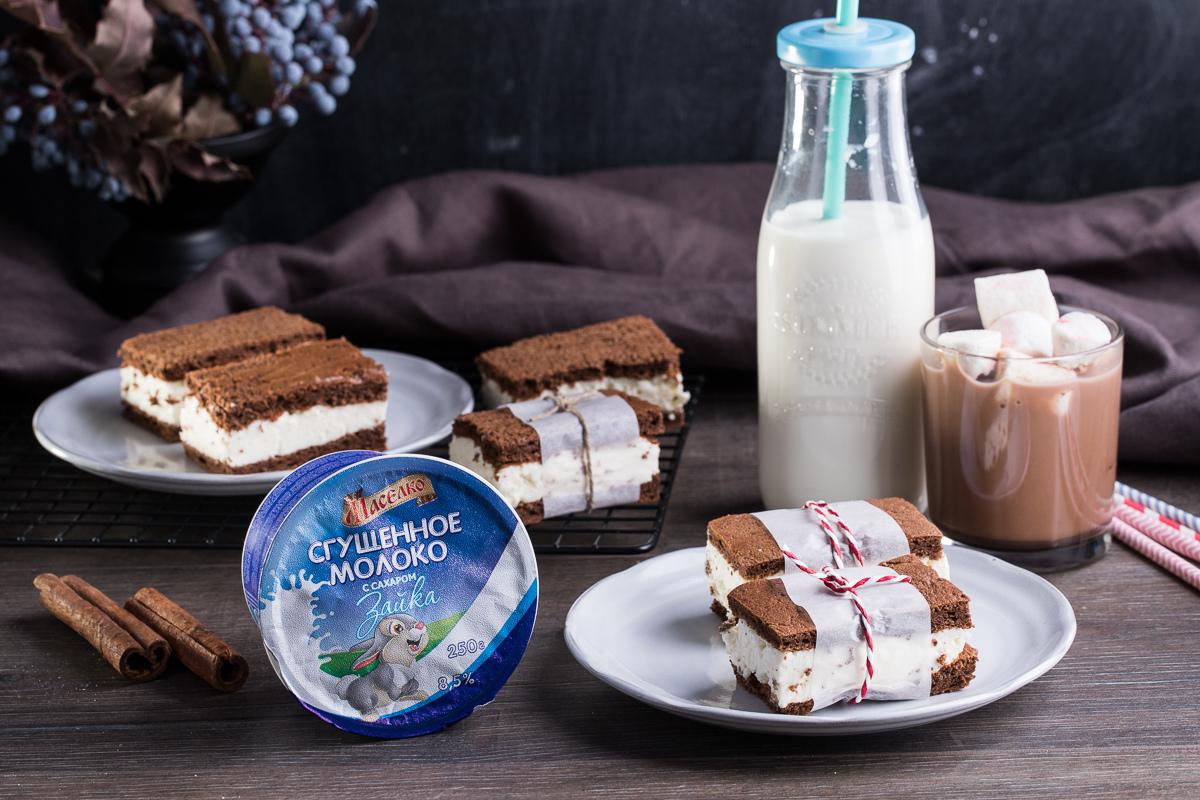 Видеорецепт: «Киндер» молочный ломтик