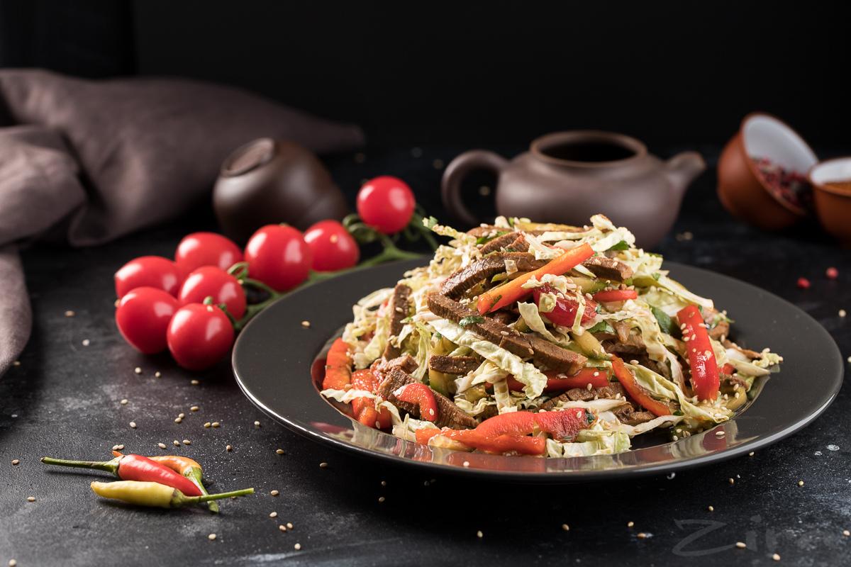 Osiyocha uslubda tayyorlangan salat