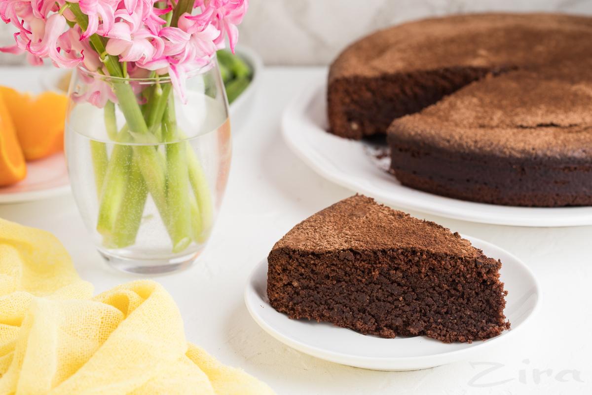 "Шоколадный торт ""Капрезе"""