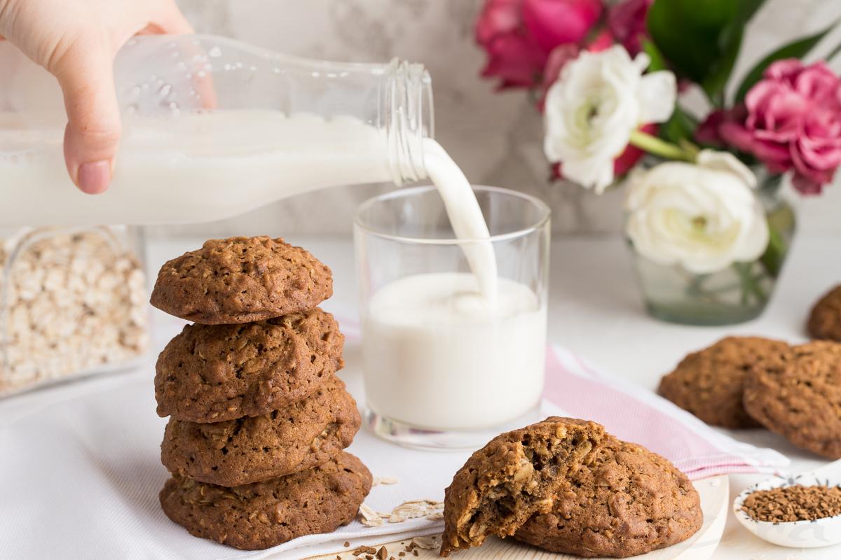 Овсяно-кофейное печенье