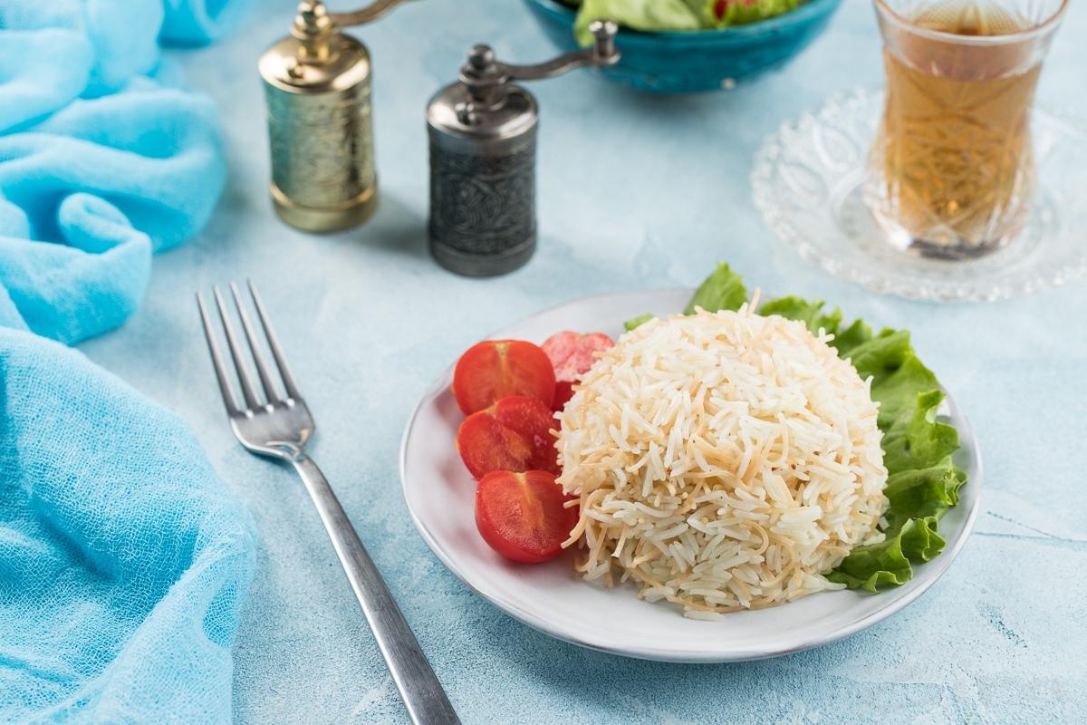 Рис по-турецки с вермишелью