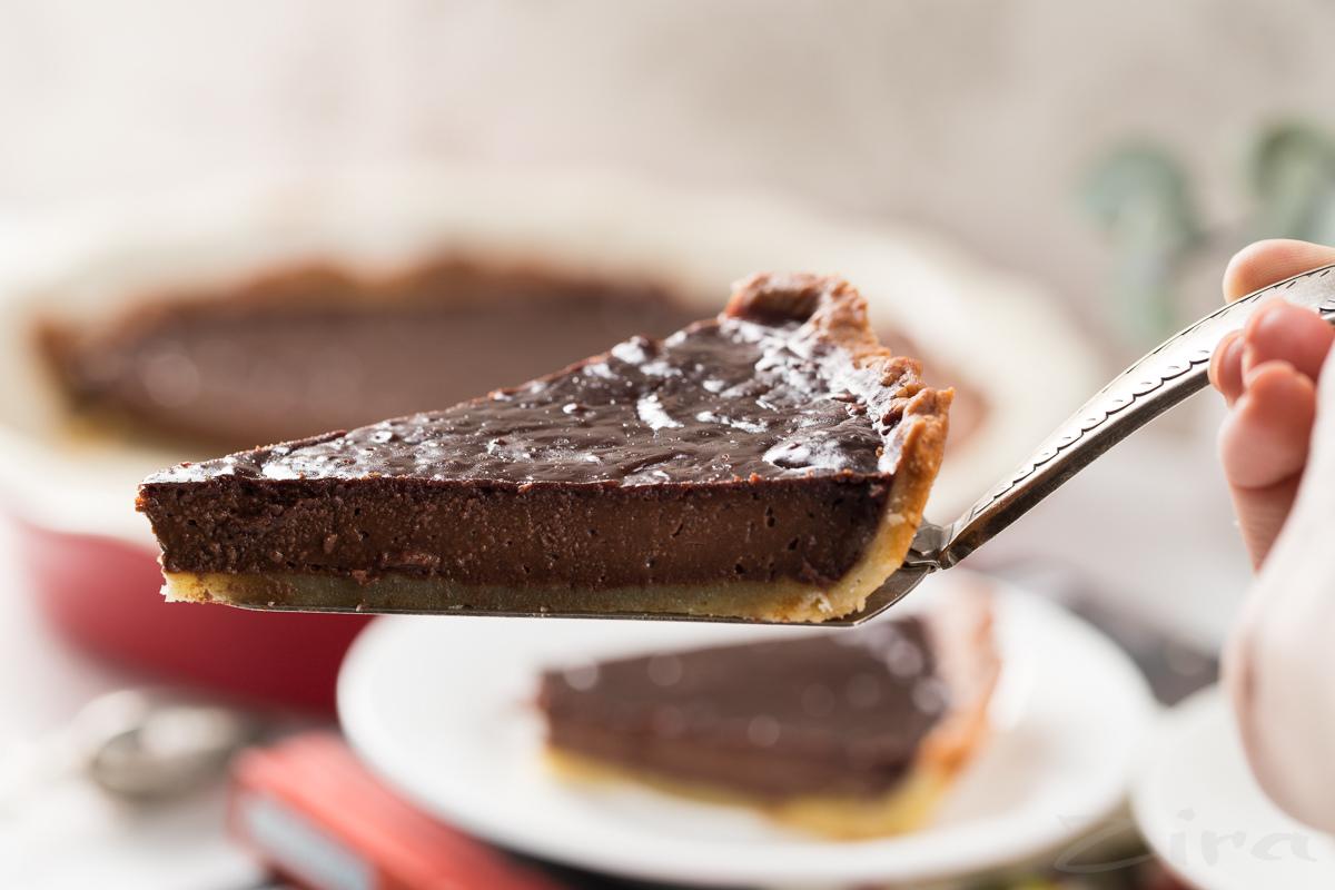 Shokolad asosli tart