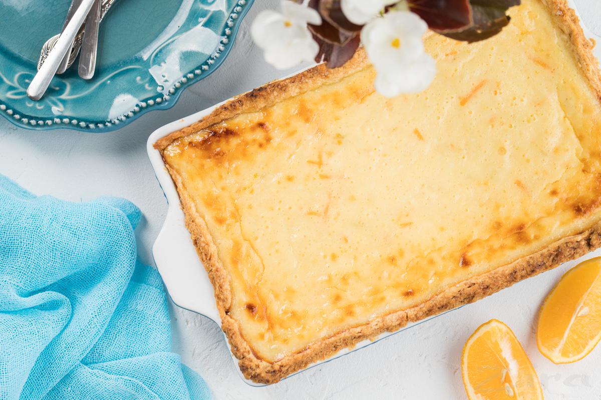 Лимонно-лаймовый тарт