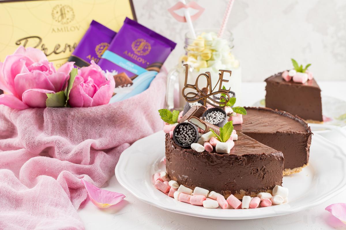 Видеорецепт: шоколадный торт-мороженое