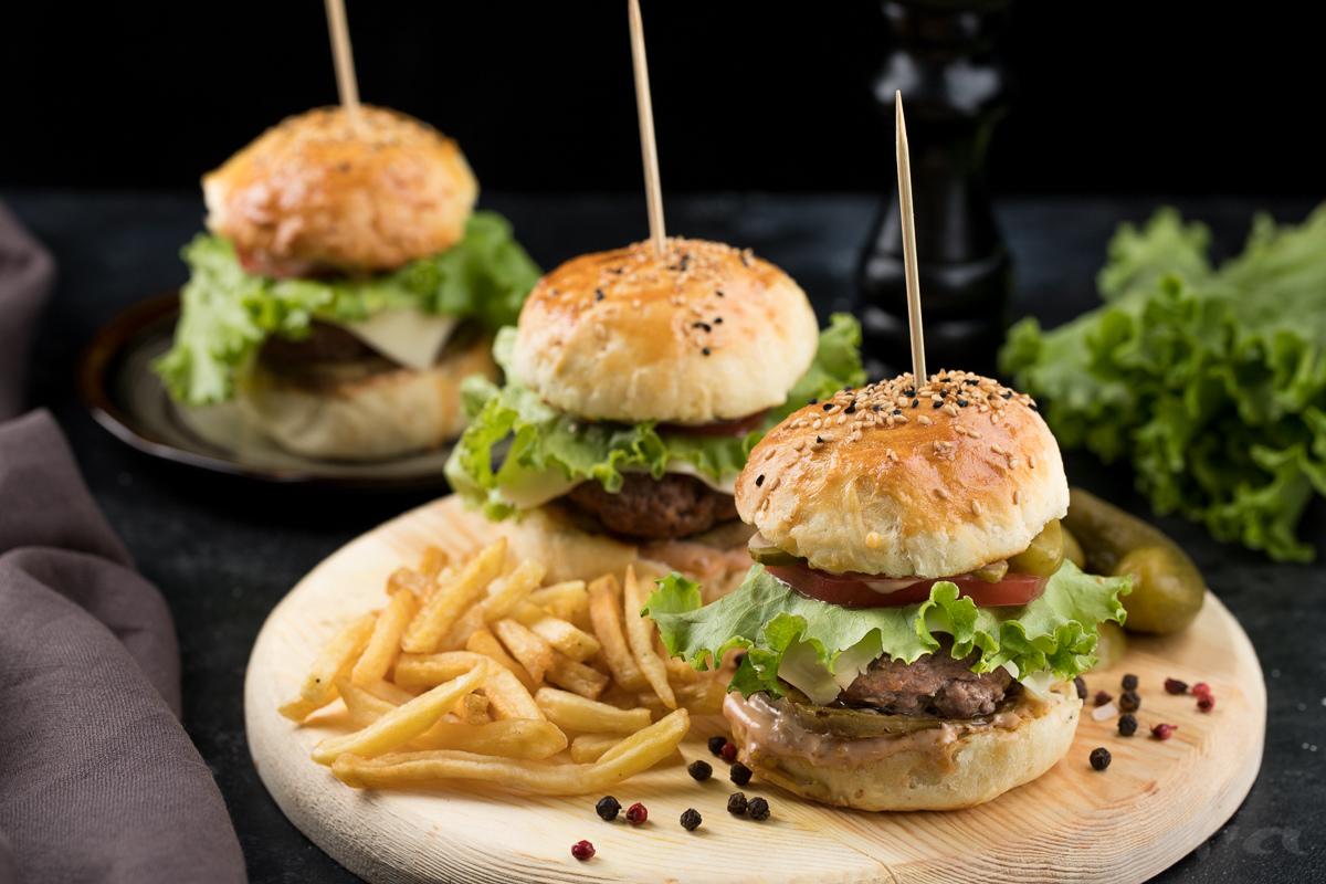 Baqlajonli sersuv burgerlar