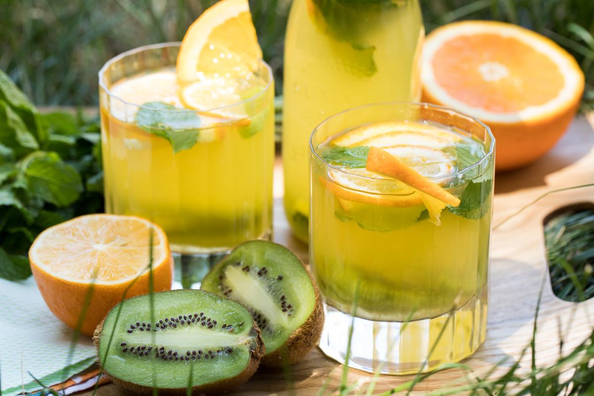 "Лимонад ""Киви-Апельсин"""