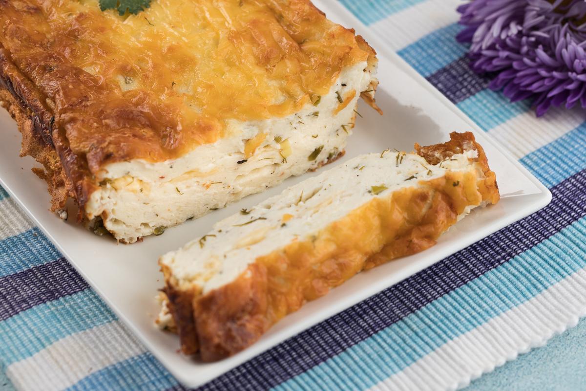 Творожная запеканка с сыром