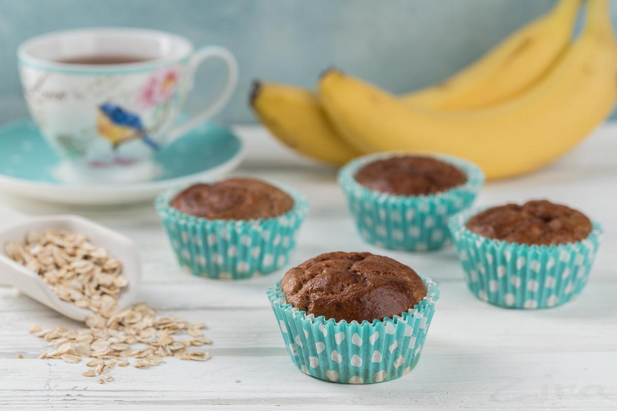 Овсяно-банановые кексы