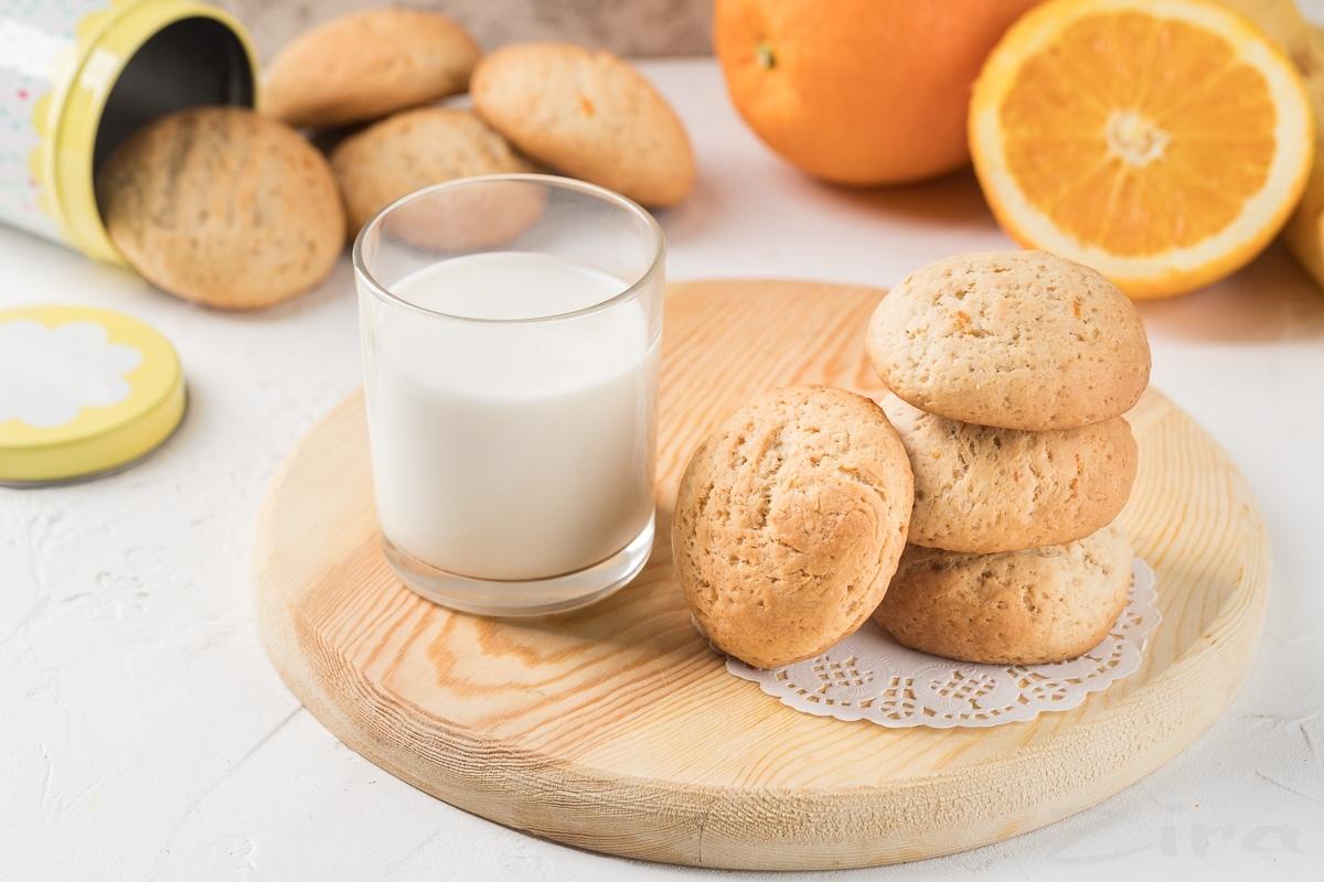 Бананово-апельсиновое печенье