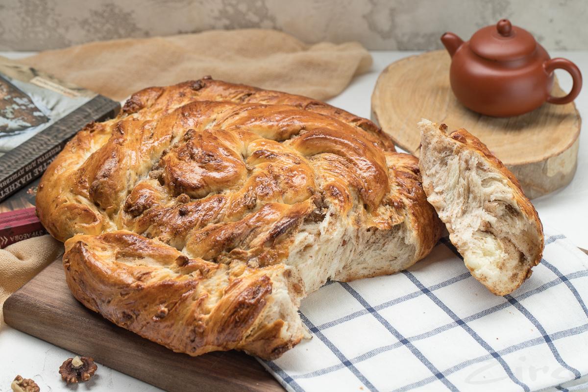 Турецкий ореховый пирог