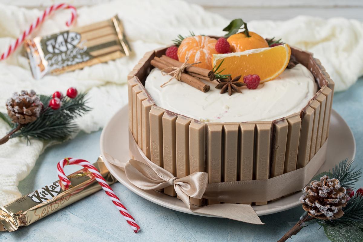 """Видеорецепт: торт """"Kitkat"""""""