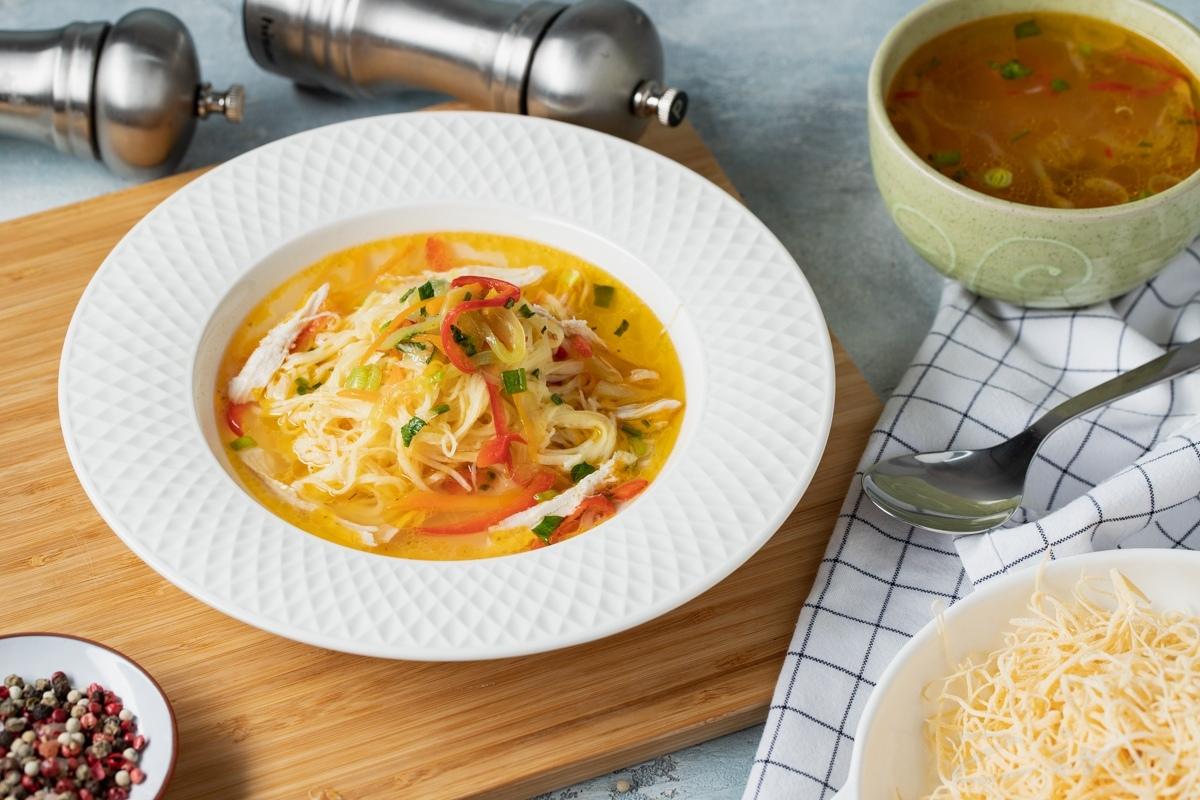 Узбекский суп угра-ош