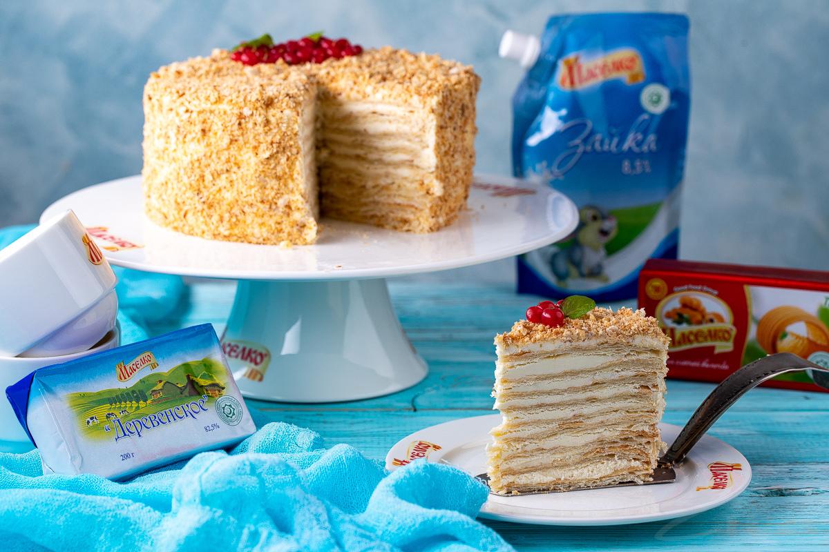 Видеорецепт: торт «Наполеон»