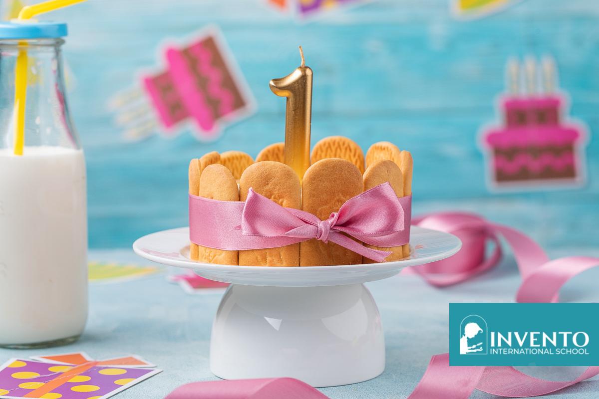 Детский торт «на годик»