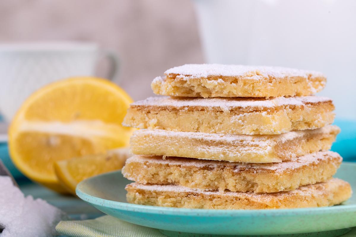 Лимонные квадратики